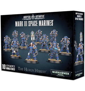 Mark III Space Marines Warhammer 40K / The Horus Heresy