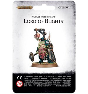 Nurgle Rotbringers Lord of Blights Warhammer Age of Sigmar