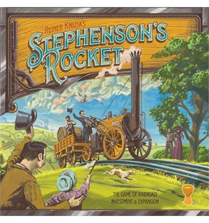 Stephensons Rocket Brettspill Second Edition