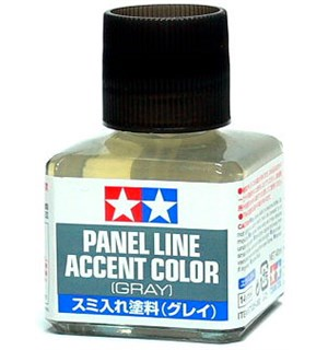 Tamiya Panel Line Accent Color - Gray