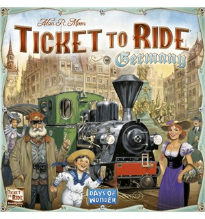 Ticket to Ride Germany Brettspill Tyskland