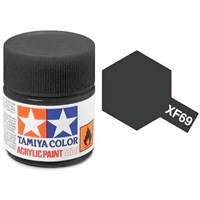Akrylmaling MINI XF-69 NATO Black Tamiya 81769 - 10ml