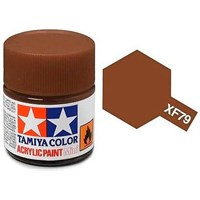 Akrylmaling MINI XF-79 Deck Brown Tamiya 81779 - 10ml