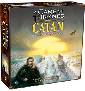 Catan A Game of Thrones Brettspill Brotherhood of the Watch