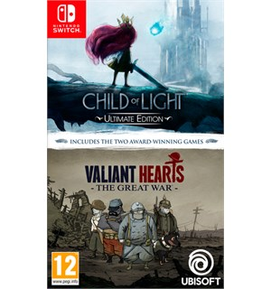 Child of Light + Valiant Hearts Switch Samlepakke med 2 prisvinnende spill