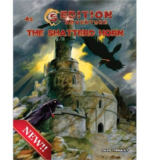 D&D Adventure A5 The Shattered Horn Dungeons & Dragons Scenario