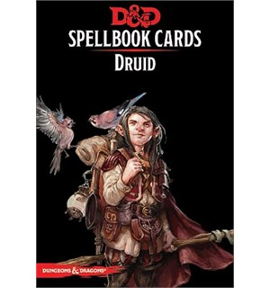 D&D Cards Spellbook Druid Dungeons & Dragons - 131 kort