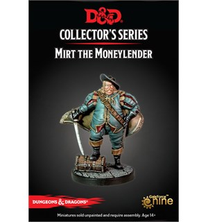 D&D Figur Coll. Series Mirt Moneylender Dungeons & Dragons Collectors Series