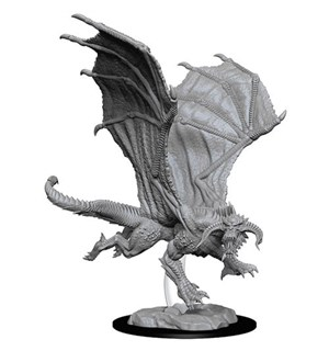 D&D Figur Nolzur Young Black Dragon Nolzur's Marvelous Miniatures - Umalt