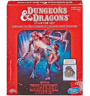 D&D Starter Set Stranger Things Edition Dungeons & Dragons Startsett