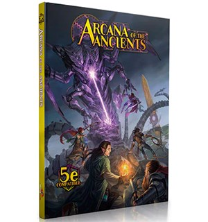 D&D Suppl. Arcana of the Ancients Dungeons & Dragons Uoffisiell sourcebook
