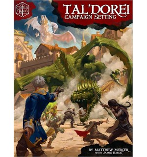 D&D Suppl. Critial Role Tal Dorei Dungeons & Dragons Campaign Setting