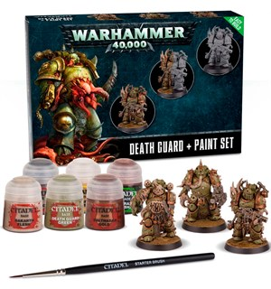 Death Guard Paint Set+ Warhammer 40K