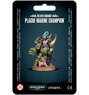 Death Guard Plague Marine Champion Warhammer 40K