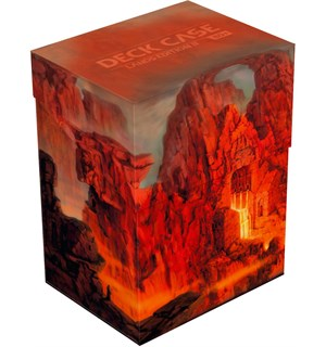 Deck Case Lands Edition Mountain 80+ Ultimate Guard Lands Edition II