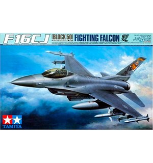 F16 CJ Block 50 Fighting Falcon Tamiya 1:32 Byggesett