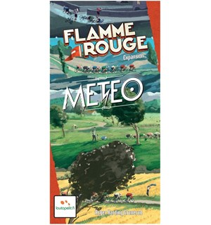 Flamme Rouge Meteo Expansion Utvidelse til Flamme Rouge