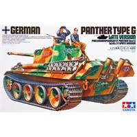 German Panther Type G Late Version Tamiya 1:35 Byggesett