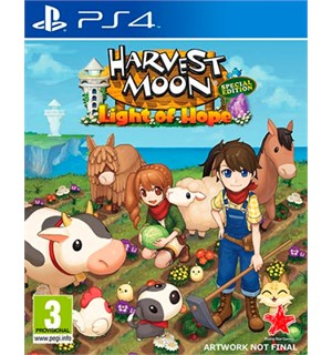 Harvest Moon Light of Hope Special  PS4 Special Edition