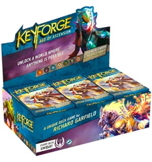 KeyForge Ascension Archon Deck - Display Age of Ascension - 12 Archon Decks