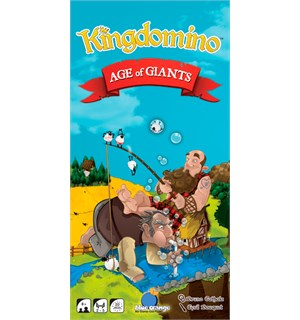 Kingdomino Age of Giants Expansion Utvidelse til Kingdomino/Queendomino