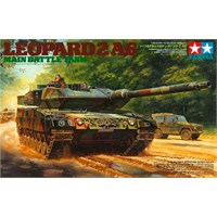 Leopard 2 A6 Main Battle Tank Tamiya 1:35 Byggesett
