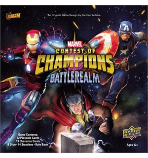 Marvel Contest of Champions Kortspill Battlerealm