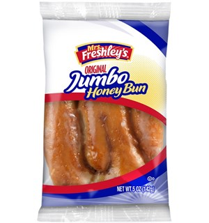Mrs Freshleys Jumbo Honey Bun 142 g