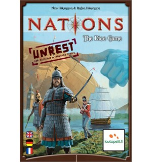 Nations The Dice Game Unrest Expansion Utvidelse til Nations The Dice Game
