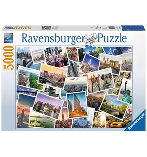 New York City 5000 biter Puslespill Ravensburger Puzzle