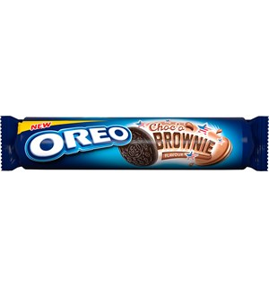 Oreo Chocolate Brownie Kjeks - 154g