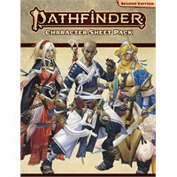 Pathfinder 2nd Ed Character Sheet Pack Second Edition RPG