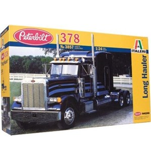 Peterbilt 378 Long Hauler Italeri 1:24 Byggesett