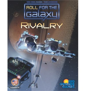 Roll for the Galaxy Rivalry Expansion Utvidelse til Roll for the Galaxy