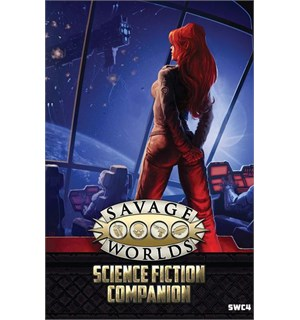 Savage Worlds RPG Science Fiction Compan Roleplaying Game - Sourcebook