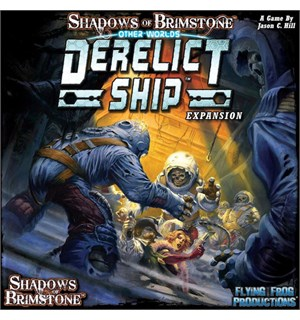 Shadows of Brimstone Derelict Ship Exp Utvidelse til Shadows of Brimstone