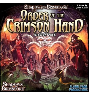 Shadows of Brimstone Order Crimson Hand Utvidelse til Shadows of Brimstone