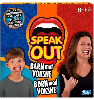 Speak Out Barn mot Voksne Brettspill Norsk utgave av Kids vs Parents
