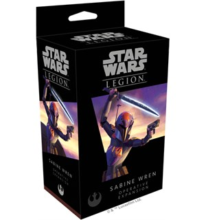 Star Wars Legion Sabine Wren Expansion Utvidelse til Star Wars Legion