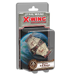 Star Wars X-Wing Scurrg H-6 Bomber Exp Utvidelse til Star Wars X-Wing