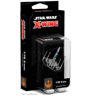 Star Wars X-Wing T-70 X-Wing Exp Utvidelse til Star Wars X-Wing 2nd Ed