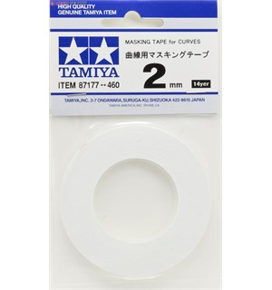 Tamiya Masking Tape For Curves - 2mm