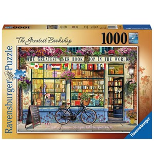 The Greatest Bookshop 1000 biter Ravensburger Puslespill