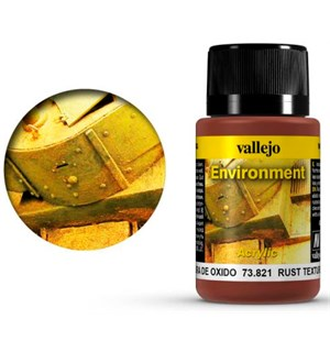 Vallejo Environment Rust Texture - 40ml