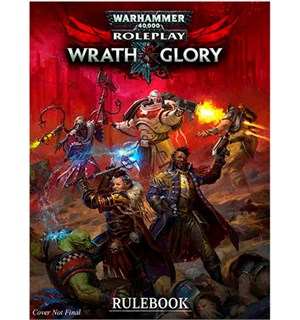 Warhammer 40K RPG Core Rules Wrath & Glory - Regelbok 2020 Edition