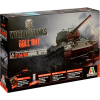 World of Tanks T-34/85 2019 Edition Italeri 1:35 Byggesett
