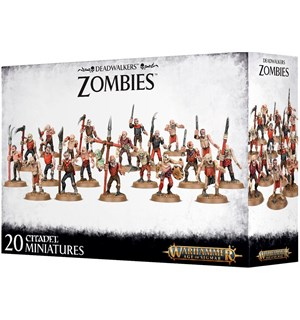 Deadwalkers Zombies Warhammer Age of Sigmar