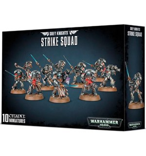 Grey Knights Strike Squad Warhammer 40K