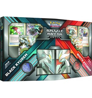 Pokemon Battle Arena Decks Kyurem Black Kyurem vs White Kyurem