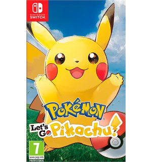 Pokemon Lets Go Pikachu Switch